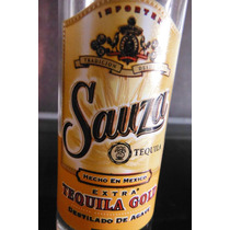 Vaso Shot Tequilero Tequila Sauza Extra Gold Imported Mexico