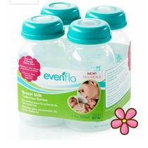 Evenflo Botellas Para Extractor De Leche