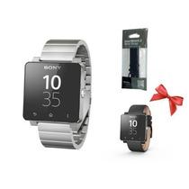 Sony Smart Watch 2 Sw2 Correa Metal Plata Regalo An300