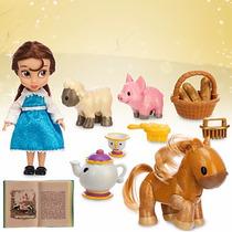 Disney Store Muñecas Animators Bella Princesa Original