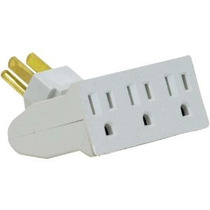 Globo Eléctrico 46505 3 Outlet Single-tap Tap Pared Grounded