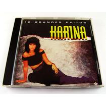 Karina / 16 Grandes Exitos Cd Como Nuevo Venezuela Ed 1993