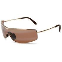 Gafas Maui Jim H511-16 Oro Sandbar Rectángulo Gafas De Sol