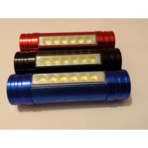 Lámpara Power Bank Tipo Minero 6800 Mah Cargador De Celular
