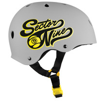 Casco Skate, Bici, Patines - Sector 9 Rally Gris S/m Y L/xl