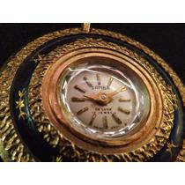 Fino Reloj Antiguo Suizo Cuerda Samba 17 Joyas