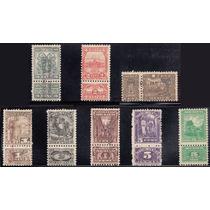Mexico Lote De Timbres Fiscales De 1929 A 1936 Nuevos Mp Msi