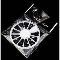 Carrete Piedra Cristal Decoracion Uñas Negro Swuaroski