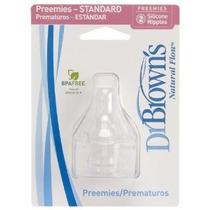 Dr. Brown Flow Natural Prematuro Standard Nipple (8 Unidades