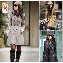 Moda Japonesa Oriental Abrigo Gabardina Poncho Envio Gratis