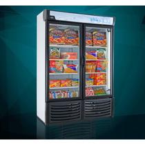 Congelador Vertical Exhibidor De 2 Puerta 32 Pies Cubicos
