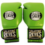Guantes De Entrenamiento Cleto Reyes Con Velcro Verde 16 Oz