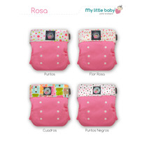 5 Pañal Ecologico My Little Baby Unita Gratis Envio/regalos