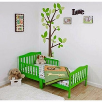 Cama Camita Infantil Para Niño De Madera Dream On Me