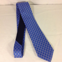 Corbata Tommy Hilfiger Azul Cuadros Original