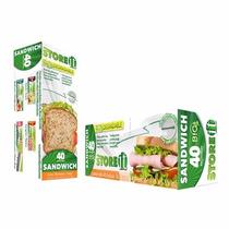 Bolsa Para Sandwich Bio Con Cierre Tipo Ziploc Con 40 Piezas