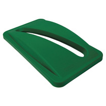 Cubierta Para Reciclar Con Ranura Para Papel Verde
