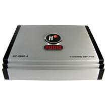 Amplificador Hf 2000w Max Clase Ab 4 Canales Más Potencia!