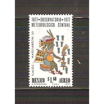 1977 Mex Observatorio Meteorologico Central Aereo Tlaloc Mnh