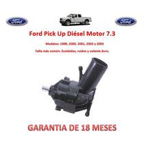 Bomba Licuadora Direccion Hidraulica Ford Diesel 7.3lts 2000