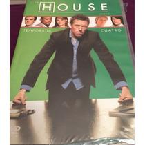 Dr. House Temporada 4 Cuatro En Dvd.