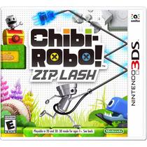 Chibi-robo! Zip Lash - Nintendo 3ds, New 3ds Fgk