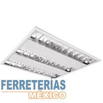 Gabinete Fluorescente 3 X 14 W Empotrar Voltech Lait 46550