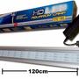 Lampara Led 120cm Acuario Plantas Acuaticas 22w Aluminio Co2