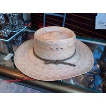 Sombreros De Palma Gallero, Catrin, Cholo,vaquero
