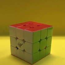 Cubo Rubik 3x3 Moyu Guo Guan Yuexiao Stickerless