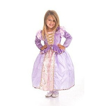 Clásico Rapunzel Traje Del Vestido De La Princesa Juegos De