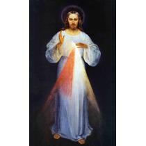 Lienzo Tela Cristo Misericordioso 66 X 50 Anónimo Arte Sacro