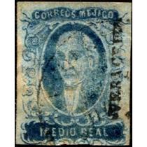 0476 Clasico Hidalgo Dto Veracruz 0.5 Reales Usado 1856