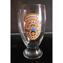 Vaso Cervecero Copa Newcastle Brown Ale England Europa Beer