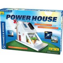 Thames Kosmos Casa Sustentable Celda Solar Eolica Lego