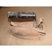 Plancha Antigua Electrica, Mide 22cm De Largo, 10cm De Ancho