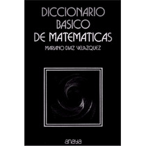 Libro: Diccionario Básico De Matemáticas, Pdf