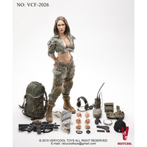 Hot Verycool Acu Came Female Shooter Megan Fox 1/6 30cm Toys