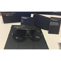 Lentes Porsche Design P8000 Sunglasses Porsche Negro Y Plata