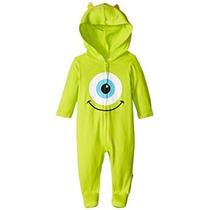 Disney Baby Baby-niños Recién Nacidos Monster Inc Mono Con F