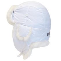 Gorra Yukon Pistas De Alaska Taslan Hat-piel Blanca Grande