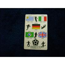 Mundial De Futbol Mexico 70 Postal B