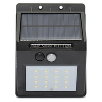 Lampara Solar Inteligente 16 Super Leds Con Sensor