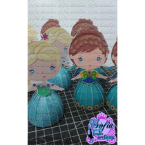 30 Cajas Princesas Frozen Ana Y Elsa