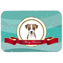 Jack Russell Terrier Feliz Navidad De La Cocina O El Baño M
