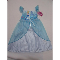 Disfraz Vestido Bata Camison Cenicienta Para Niña 2 Años