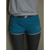 Shorts Hollister Co. S-m Fleece Nuevo Orig. Faldas,jeans
