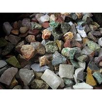 2 Libras De Madagascar Minerales Labradorita 12 Piedras Mix