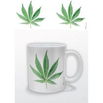 Taza Cannabis - Hoja De Cerámica De Café Taza De Té Regal