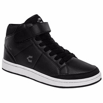 Tenis T/botines Casuales Charly 1030495 Negro Pv